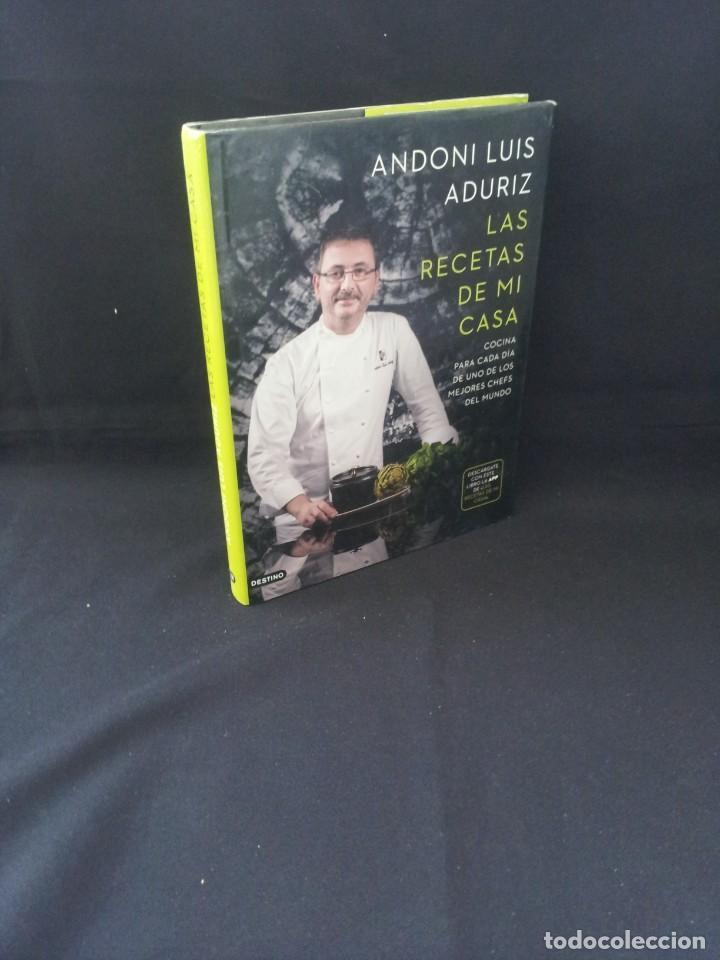 ANDONI LUIS ADURIZ - LAS RECETAS DE MI CASA - DESTINO 2013 (Libros de Segunda Mano - Cocina y Gastronomía)