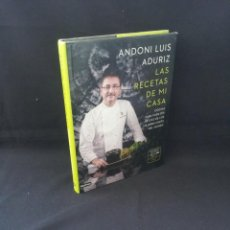 Libros de segunda mano: ANDONI LUIS ADURIZ - LAS RECETAS DE MI CASA - DESTINO 2013. Lote 206806958