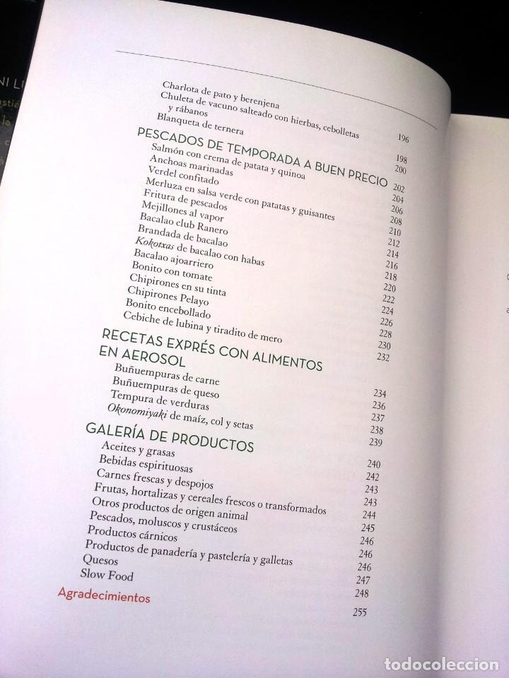 Libros de segunda mano: ANDONI LUIS ADURIZ - LAS RECETAS DE MI CASA - DESTINO 2013 - Foto 6 - 206806958