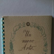 Libros de segunda mano: UN NUEVO ARTE DE COMER. EDITADO POR FRIMOTOR, S.A.E.. Lote 207063123