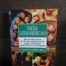 Libros de segunda mano: COCINA LATINOAMERICANA. ELISABETH LAMBERT ORTIZ. MAS DE 250 RECETAS DE LAS MAS SABROSAS DE LOS PAISE. Lote 207065383