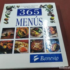 Libros de segunda mano: 365 MENÚS - CONCEPCIÓN HERRERA DE BASCUÑAN - CUB. Lote 207065757