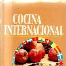 Libros de segunda mano: COCINA INTERNACIONAL. A-COCINA-963. Lote 207281890
