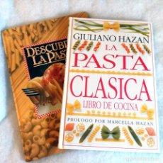 Libros de segunda mano: LOTE. DESCUBRA LA PASTA + LA PASTA CLASICA. Lote 207447007