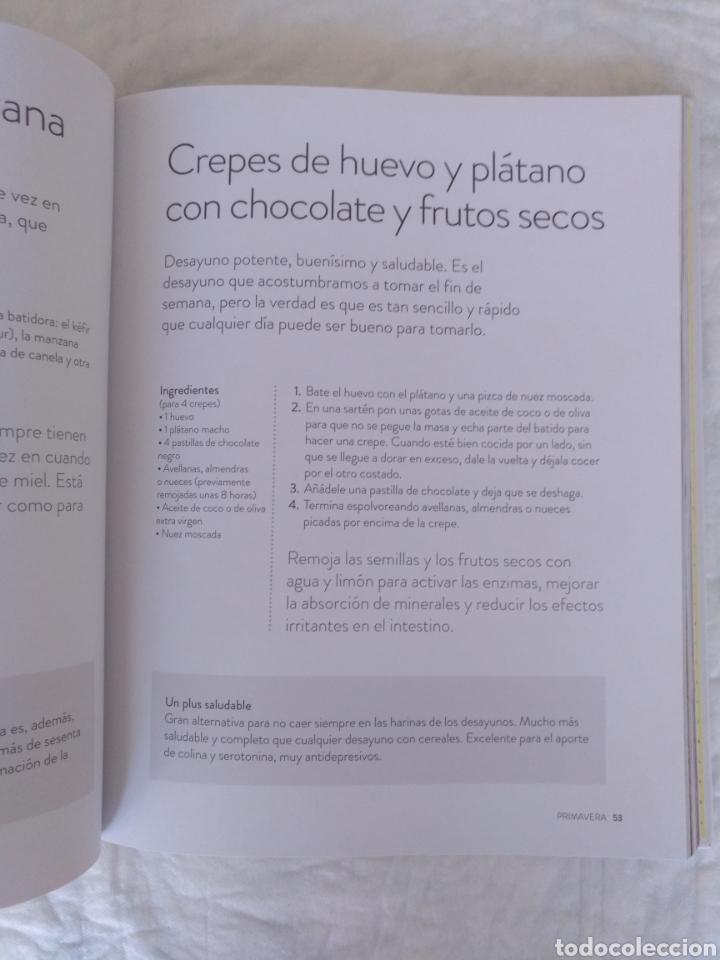Libros de segunda mano: Como a mí me gusta. Mis recetas saludables para ser feliz. Silvia Abril. Xevi Verdaguer. Libro - Foto 5 - 207683568