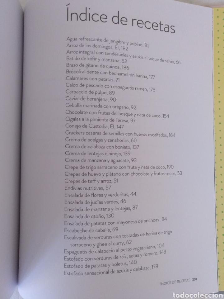 Libros de segunda mano: Como a mí me gusta. Mis recetas saludables para ser feliz. Silvia Abril. Xevi Verdaguer. Libro - Foto 6 - 207683568