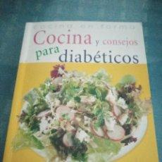 Libros de segunda mano: LIBRO COCINA Y CONSEJOS PARA DIABETICOS, COCINA EN FORMA. Lote 208079366