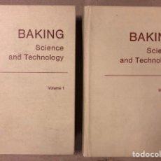 Libros de segunda mano: BAKING SCIENCE AND TECHNOLOGY (2 VOLÚMENES). E.J. PYLER. ED. SIEBEL (1973). LIBROS SOBRE PAN.. Lote 208113368