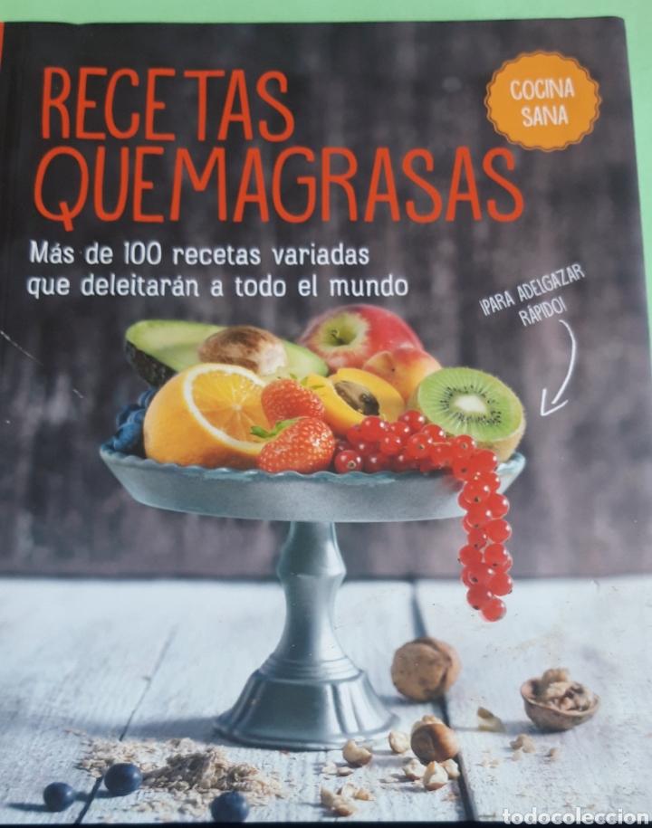 RECETAS QUEMAGRASAS. MÁS DE 100 RECETAS QUE DELEITARÁN A TODO EL MUNDO. (Libros de Segunda Mano - Cocina y Gastronomía)