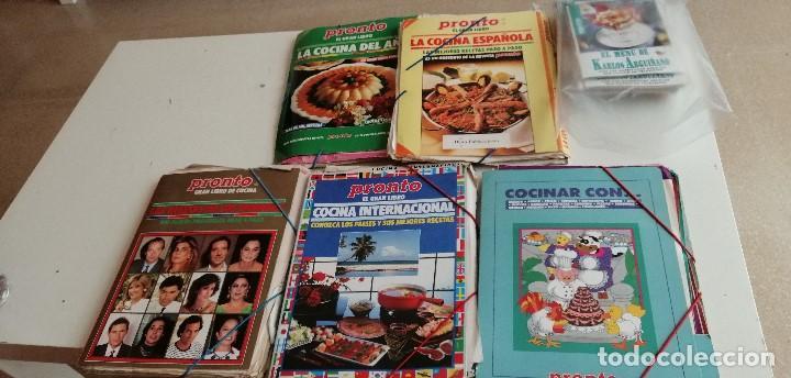G-7 LOTE DE CIENTOS DE FICHAS DE COCINA LAS DE FOTO AHI MUCHISIMAS Y VARIADAS (Libros de Segunda Mano - Cocina y Gastronomía)