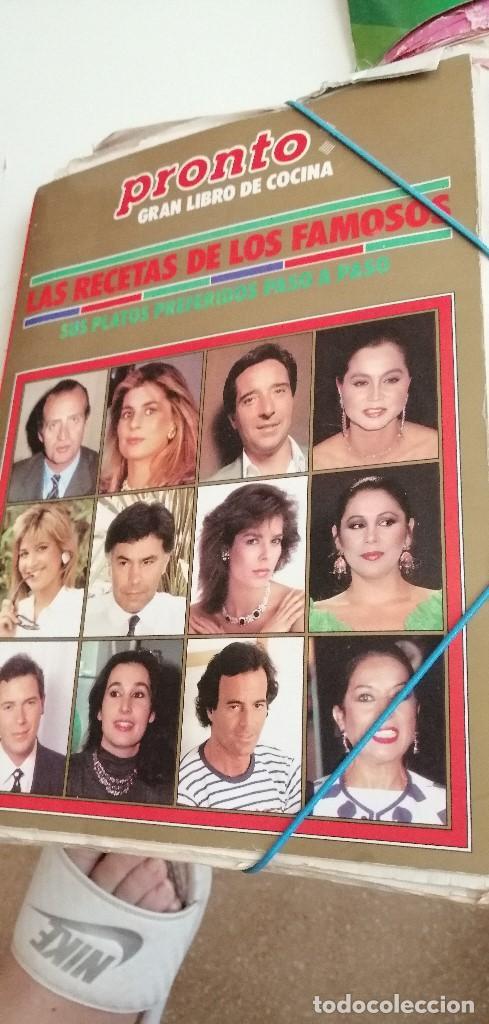 Libros de segunda mano: G-7 LOTE DE CIENTOS DE FICHAS DE COCINA LAS DE FOTO AHI MUCHISIMAS Y VARIADAS - Foto 2 - 208861263