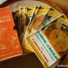 Livros em segunda mão: COCINA BIBLIOTECA EL AMA DE CASA- AÑOS 50. Lote 209208060