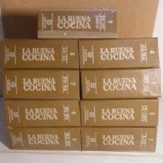 Libri di seconda mano: 9 VOLUMENES - FICHERO SARPE - LA BUENA COCINA - 1981 * COMPLETO. Lote 209587682