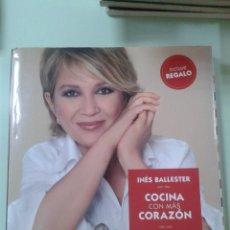 Libros de segunda mano: COCINA CON MÁS CORAZÓN - INÉS BALLESTER. Lote 209705807