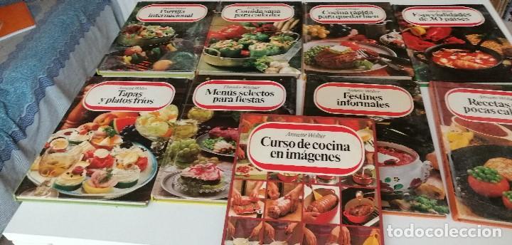 TRAST- LOTE DE 9 LIBROS DE COCINA ANNETTE WOLTER LOS DE FOTO (Libros de Segunda Mano - Cocina y Gastronomía)