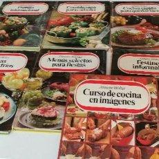 Libros de segunda mano: TRAST- LOTE DE 9 LIBROS DE COCINA ANNETTE WOLTER LOS DE FOTO. Lote 209788782