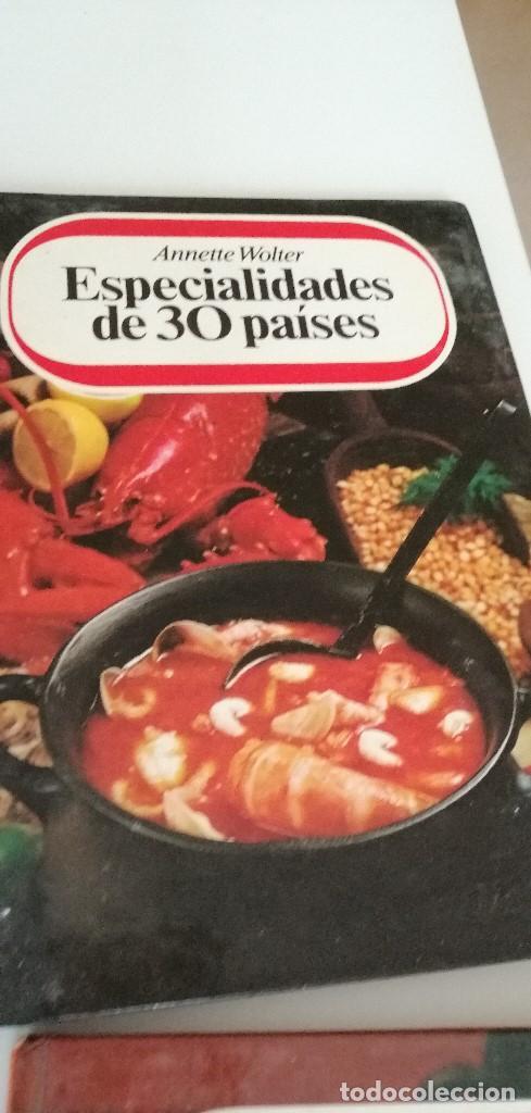 Libros de segunda mano: TRAST- LOTE DE 9 LIBROS DE COCINA ANNETTE WOLTER LOS DE FOTO - Foto 7 - 209788782