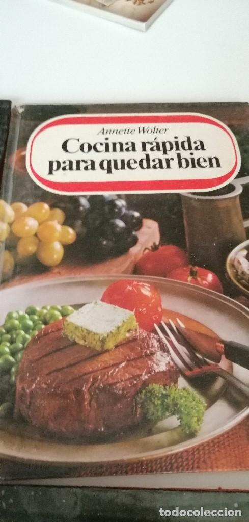 Libros de segunda mano: TRAST- LOTE DE 9 LIBROS DE COCINA ANNETTE WOLTER LOS DE FOTO - Foto 8 - 209788782
