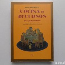 Libros de segunda mano: LIBRERIA GHOTICA. IGNACIO DOMÉNECH. COCINA DE RECURSOS ( DESEO MI COMIDA) 2011. FOLIO.. Lote 210318205
