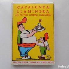 Libros de segunda mano: LIBRERIA GHOTICA. CATALUNYA LLAMINERA. LES POSTRES TIPIQUES CATALANES. 1968.. Lote 210346518