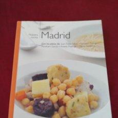 Livres d'occasion: MADRID. NUESTRA COCINA. BIBLIOTECA METROPOLI. Lote 210564838