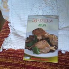 Libros de segunda mano: 30 RECETAS EN 30 MINUTOS. ATUN. Lote 210574295