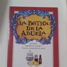 Libros de segunda mano: REMDIOS. INGRDIENTES NATURALES - LA BOTICA DE LA ABUELA. Lote 210695814