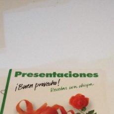Libros de segunda mano: G-10 LIBRO PRESENTACIONES BUEN PROVECHO RECETAS CON CHISPA ULRICH KUHN-HEIN. Lote 210971401