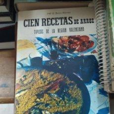 Libros de segunda mano: CIEN RECETAS DE ARROZ, G. SEIJO ALONSO. L.7539-876. Lote 211390446