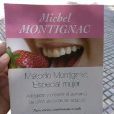 Libros de segunda mano: MICHEL MONTIGNAC MÉTODO MONTIGNAC ESPECIAL MUJER. Lote 211662796