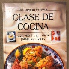 Libros de segunda mano: CLASE DE COCINA. LIBRO COMPLETO DE RECETAS CON EXPLICACIONES PASO A PASO. PUBLICATIONS INTERNATIONAL. Lote 168856222