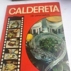 Libros de segunda mano: LIBRO COCINA CALDERETA DE PESCADO MATEO SALA TOMAS JORQUERA, 1ª EDICION 1971 FULLGRAF. Lote 211933287