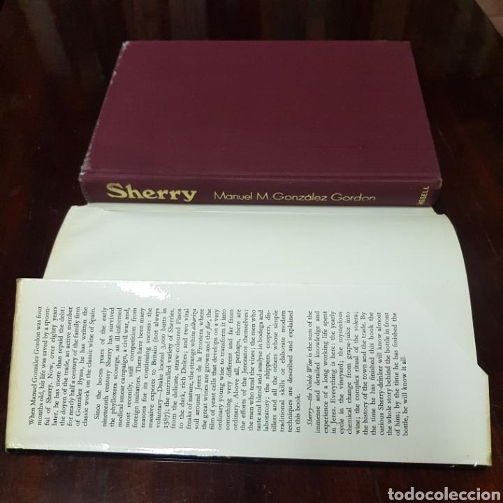Libros de segunda mano: SHERRY - MANUEL GONZALEZ GORDON 1972 LONDON ( JERRZ DE LA FRONTERA ) - Foto 2 - 212004146