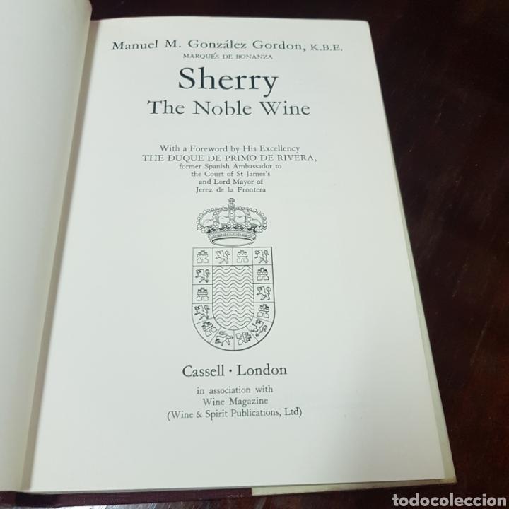 Libros de segunda mano: SHERRY - MANUEL GONZALEZ GORDON 1972 LONDON ( JERRZ DE LA FRONTERA ) - Foto 3 - 212004146