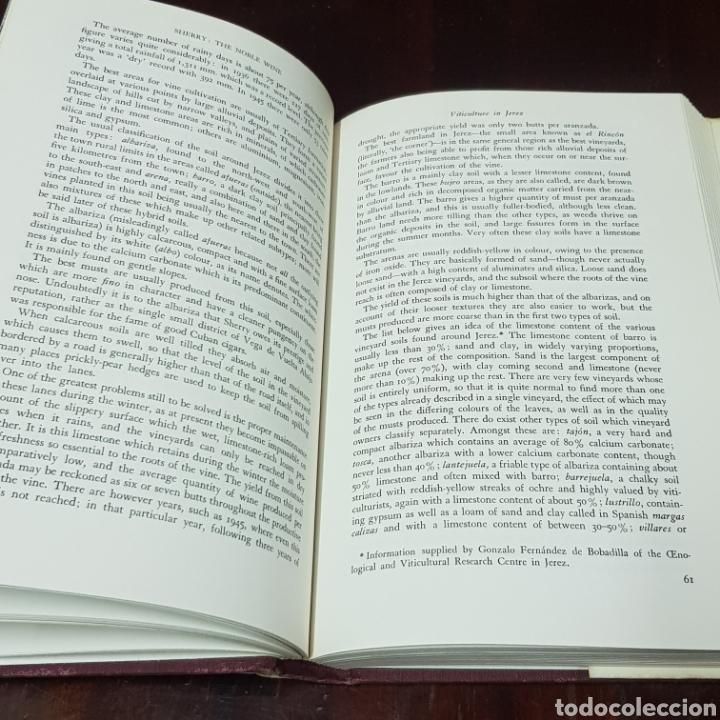 Libros de segunda mano: SHERRY - MANUEL GONZALEZ GORDON 1972 LONDON ( JERRZ DE LA FRONTERA ) - Foto 7 - 212004146