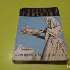 Libros de segunda mano: COCINA REGIONAL ESPAÑOLA, 1953, SECCIÓN FEMENINA J. O. N. S.. Lote 212006880