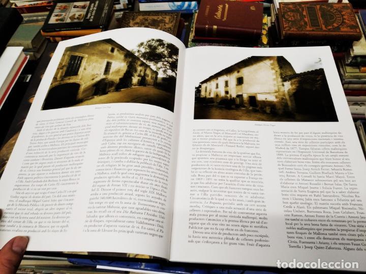 Libros de segunda mano: ELS VINS DE MALLORCA . PASSAT I PRESENT DUNA TRADICIÓ SECULAR . OLAÑETA . INCLOU ESTOIG . - Foto 5 - 212427716