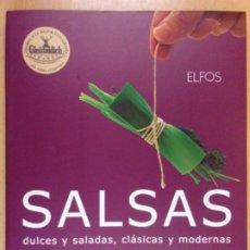 Livres d'occasion: SALSAS DULCES Y SALADAS, CLÁSICAS Y MODERNAS / MICHEL ROUX / 2006. ELFOS. Lote 212683792