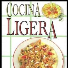 Libros de segunda mano: COCINA LIGERA. GASTRONOMIA. RECETAS. PRIMEROS Y SEGUNOS PLATOS. POSTRES.. Lote 212696230