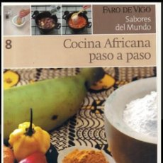 Libros de segunda mano: COCINA. AFRICANA PASO A PASO. RECETAS. GASTRONOMIA. ETNICA. EXOTICA. AFRICA.. Lote 212723358