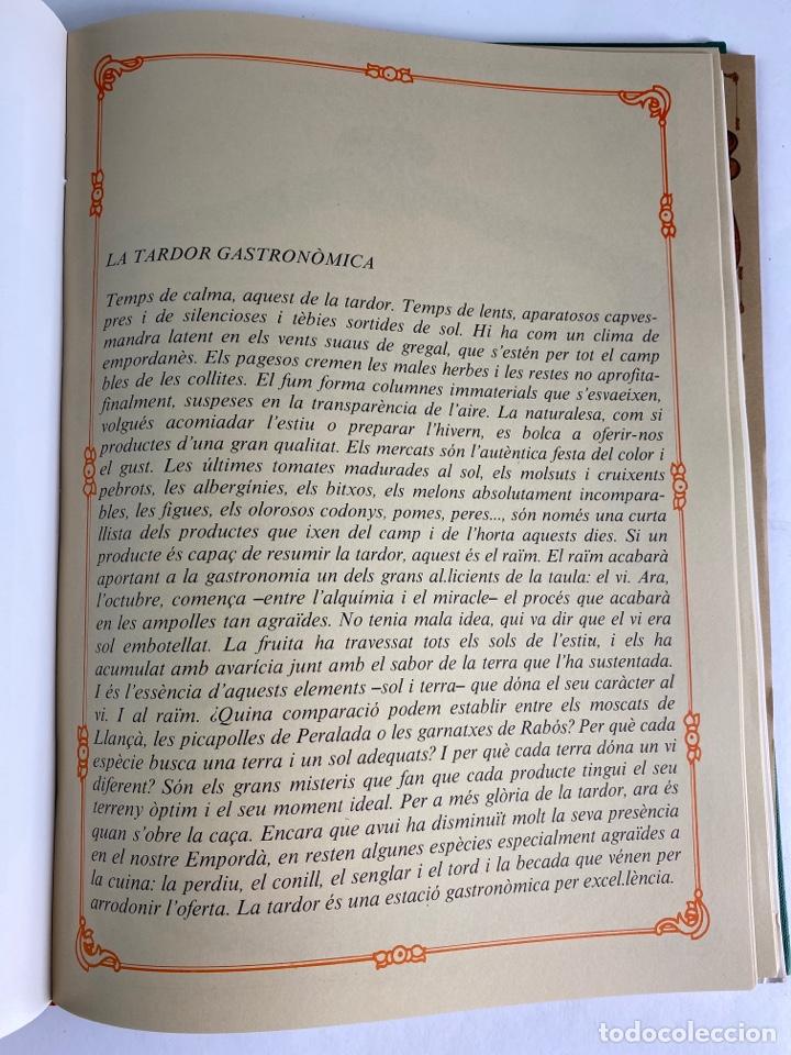 Libros de segunda mano: L-5584. RECEPTES DE CUINA EMPORDANESA PER JOAN DURAN. 1985. - Foto 10 - 213080400