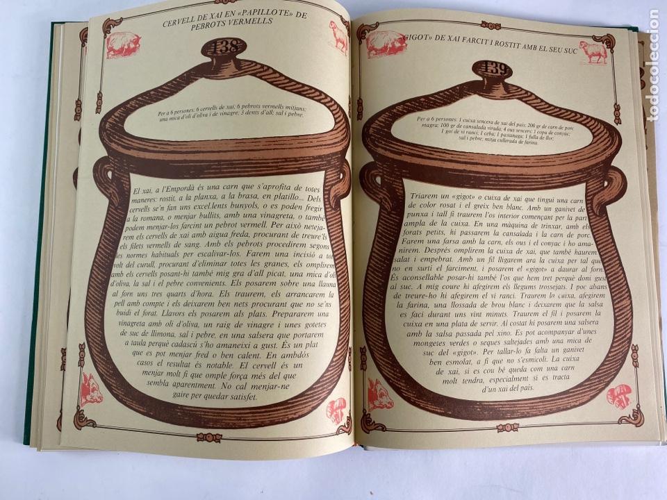 Libros de segunda mano: L-5584. RECEPTES DE CUINA EMPORDANESA PER JOAN DURAN. 1985. - Foto 11 - 213080400