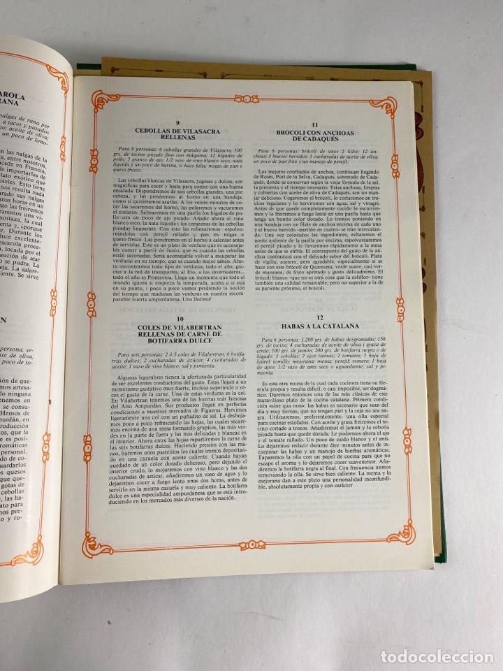 Libros de segunda mano: L-5584. RECEPTES DE CUINA EMPORDANESA PER JOAN DURAN. 1985. - Foto 14 - 213080400