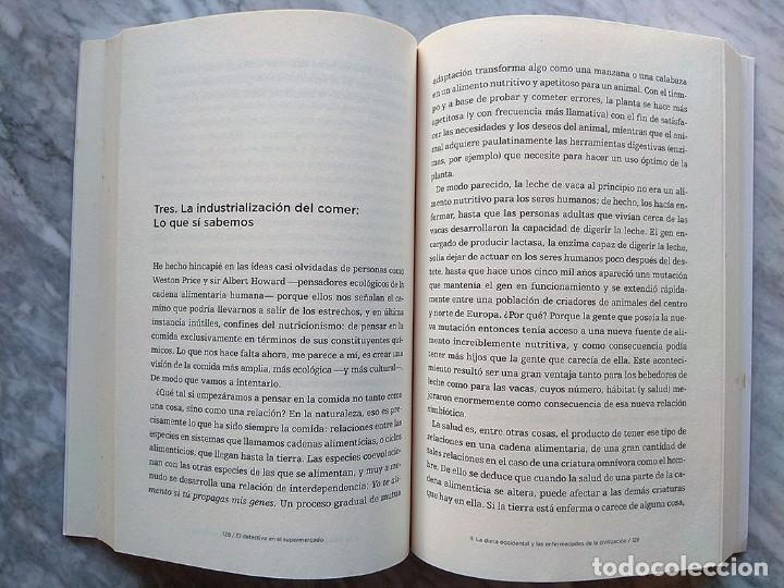 Libros de segunda mano: Michael Pollan: El detective en el supermercado (Primera edición, febrero 2009) - Foto 3 - 213361295