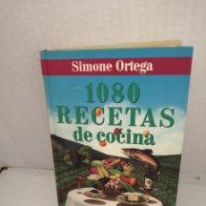 Libros de segunda mano: 1080 RECETAS DE COCINA (TAPA DURA). Lote 213400693