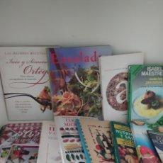 Libros de segunda mano: 11 LIBROS DE COCINA. Lote 213765848