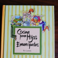 Libros de segunda mano: COCINA PARA HIJOS EMANCIPADOS. CARMETA.. Lote 214048311