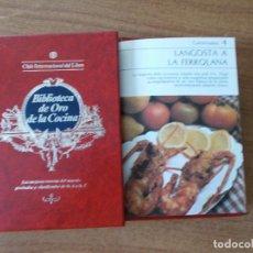 Libros de segunda mano: BIBLIOTECA DE ORO DE LA COCINA -TOMO 28 -VER DESCRIPCIÓN DE LAS RECETAS. Lote 214120611