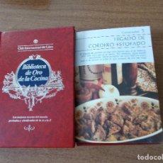 Libros de segunda mano: BIBLIOTECA DE ORO DE LA COCINA -TOMO 25 -VER DESCRIPCIÓN DE LAS RECETAS. Lote 214121563