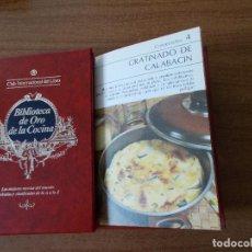 Libros de segunda mano: BIBLIOTECA DE ORO DE LA COCINA -TOMO 24 -VER DESCRIPCIÓN DE LAS RECETAS. Lote 214122050